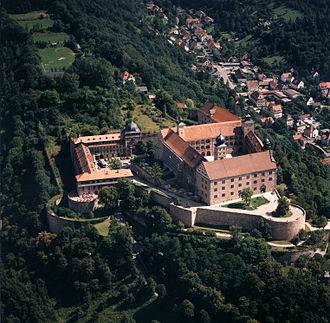Kulmbach - The Plassenburg from above