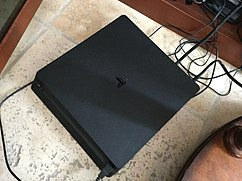 PlayStation 4 Slim video game console.jpg