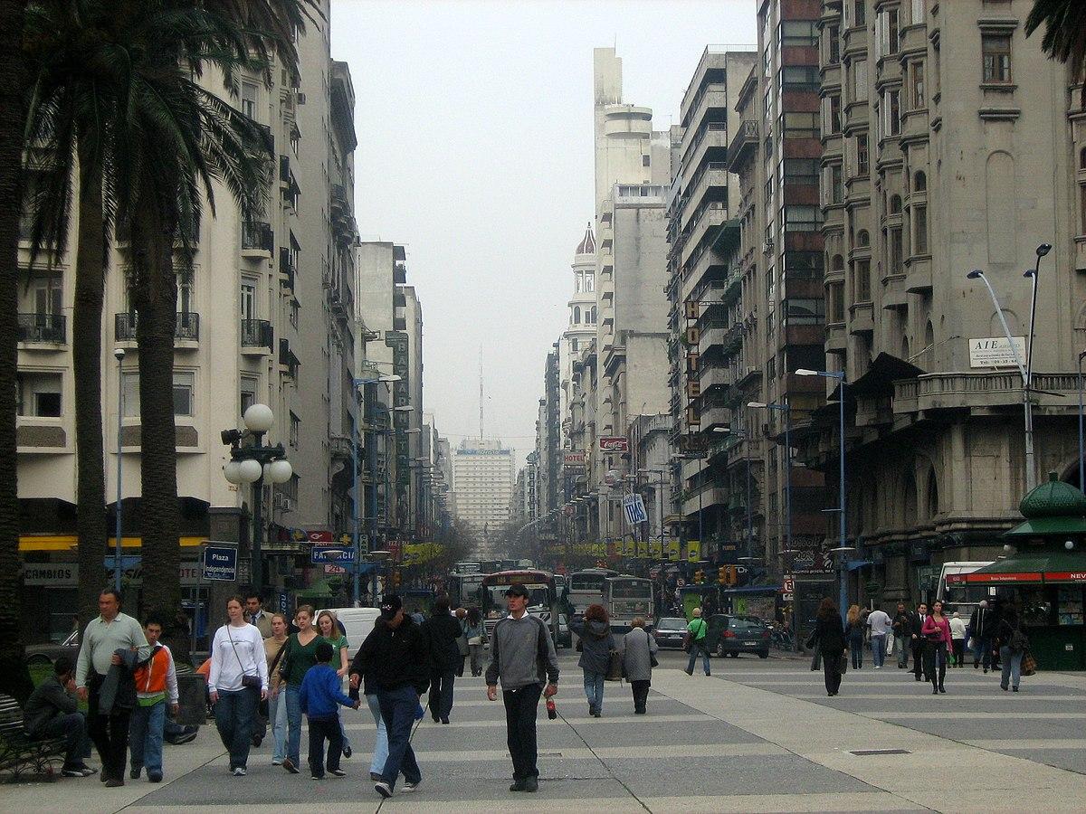 Avenida 18 De Julio Wikipedia La Enciclopedia Libre
