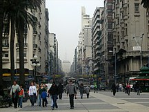 Uruguay-Etnie-Plaza Independencia de Montevideo