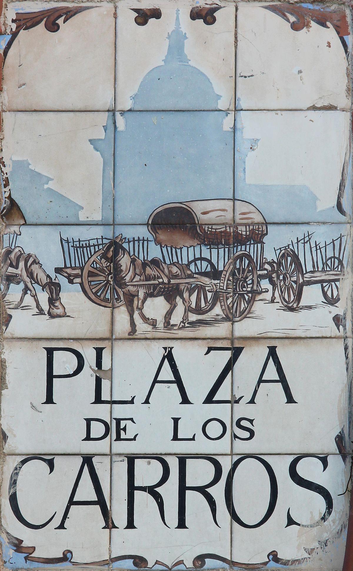 Plaza de los carros wikipedia la enciclopedia libre for Discoteca plaza de los cubos madrid