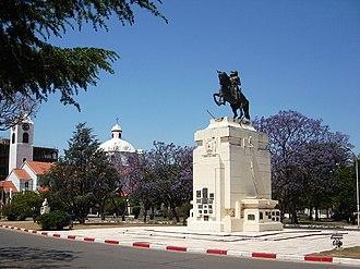 Río Tercero, Córdoba - Image: Plaza riotercero