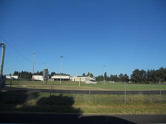 Pleasant Hill, Oregon - Sports fields at Pleasant Hill High School