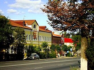 Pokrov, Vladimir Oblast - Lenina Street in Pokrov
