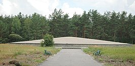 Poland Sobibor - death camp mausoleum.jpg