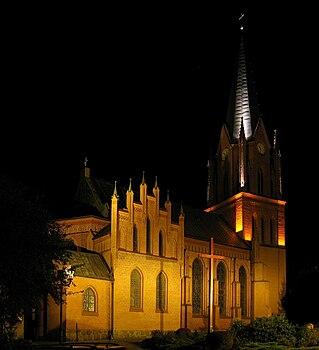 Polski: Kościół pw. Niepokalanego Poczęcia NMPEnglish: Church of the Immaculate Conception