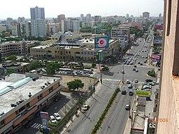 Trafik i Santo Domingo.