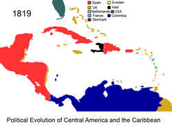 Political Evolution of Central America and the Caribbean 1819 na.png