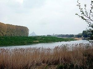 Couesnon - The Couesnon near Pontorson