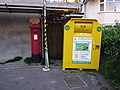 Poole, postbox No. BH14 40, Sandbanks Road - geograph.org.uk - 1430447.jpg