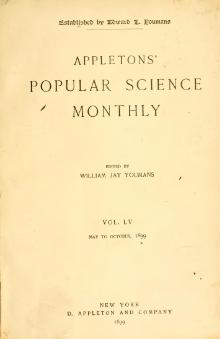 Popular Science Monthly Volume 55.djvu