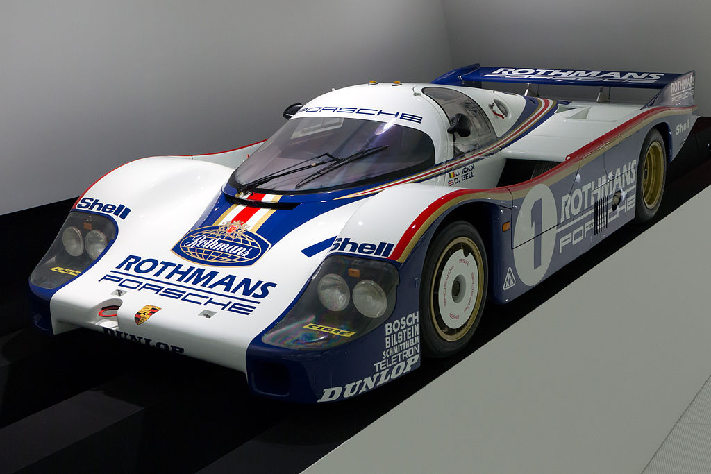 Porsche 956 front-left Porsche Museum