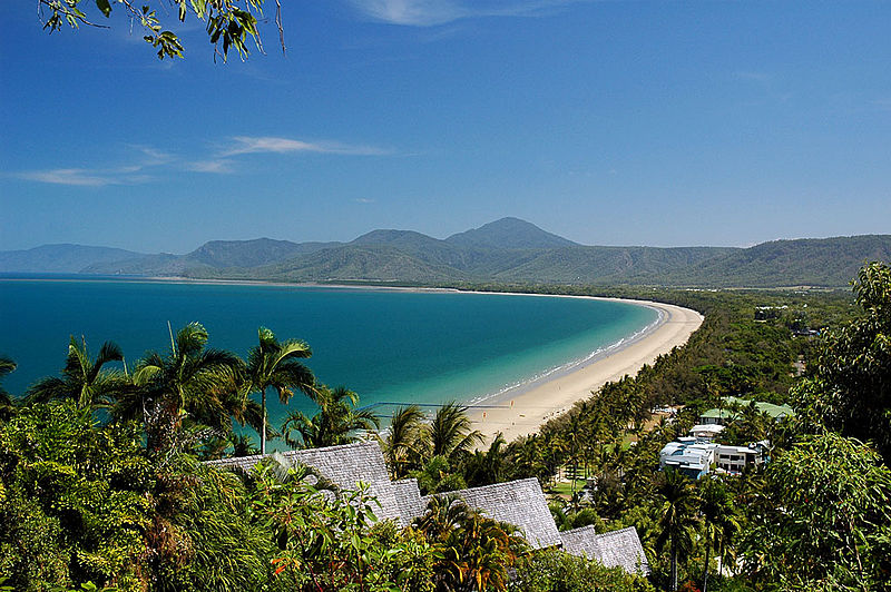 A click of Four Mile Beach which is one of the top attractions in Port Douglas