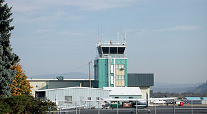 Portland–Troutdale Airport - Control tower