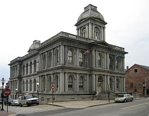 Portland Maine Custom House