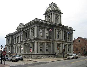 Alfred B. Mullett - Image: Portland Maine Custom House
