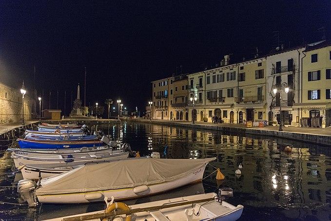 Porto Vecchio - Lazise, Verona, Italy - March 3, 2017