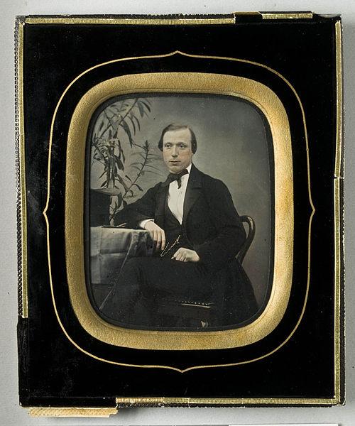 File:Porträtt av man, Grosshandlare Gustaf Edvard Ottergren, 1859 - Nordiska Museet - NMA.0052737 1.jpg