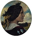 Portrait of Alexandra Leighton (later Mrs. Sutherland Orr) 1853.jpg