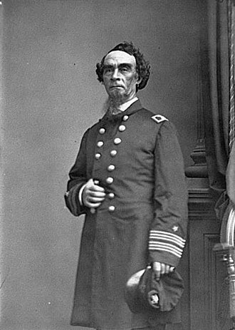 Henry A. Walke - Image: Portrait of Capt. Henry Walke, officer of the Federal Navy LOC cwpb.05251 (cropped)