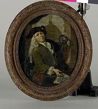 Portret van Arnoud van Halen (1673-1732). Schilder, graveur, dichter en verzamelaar te Amsterdam Rijksmuseum SK-A-1738.jpeg