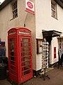 Postbridge, telephone box - geograph.org.uk - 1466638.jpg