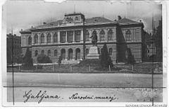 Postcard of Ljubljana, National Museum (2).jpg
