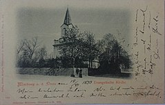 Postcard of Maribor Lutheran Church 1899.jpg