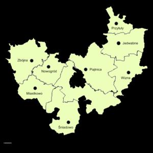 Łomża County - Image: Powiat lomzynski