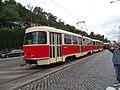 Průvod tramvají 2015, 18c - tramvaj 6149 a 6102.jpg