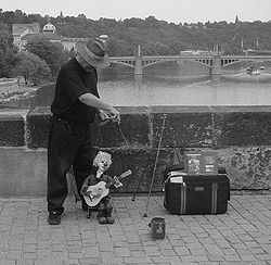 Marionette in Prague