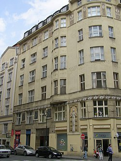Praha, Kaprova 9, dům 01.jpg