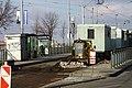 Praha, Nové město, Palackého náměstí, práce na trati.jpg