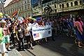 Praha, Staré Město, Prague Pride 2012, Americká ambasáda.jpg