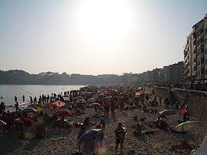Sanxenxo - Image: Praia de Silgar, Sanxenxo