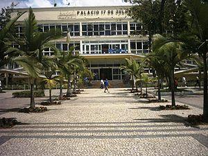 Palácio 17 de Julho, sede da prefeitura