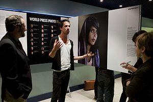 Bibi Aisha - The image of Aisha was shown at a World Press Photo presentation in 2011.