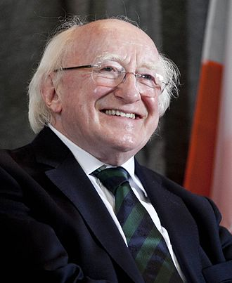 President of Ireland - Image: President Higgins's visit FINIRISH BATT HQ, Lebanon (cropped)