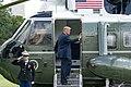 President Trump Departs for Ohio (48434472171).jpg