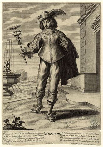 Anthony Ashley Cooper, 1st Earl of Shaftesbury - Maurice of the Palatinate (1620–1652), depicted as Mercury.  Prince Maurice then attempted to block Cooper's appointment as governor of Weymouth and Portland.