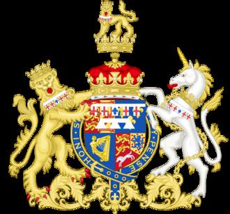 Prince William Frederick, Duke of Gloucester and Edinburgh - Arms of Prince William Frederick