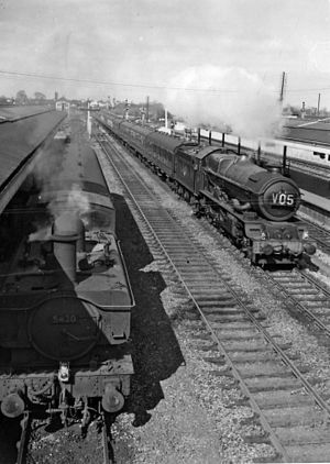 Great Western and Great Central Joint Railway - Princes Risborough in 1961
