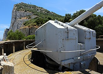 Princess Anne's Battery - Image: Princess Anne's Battery and gib
