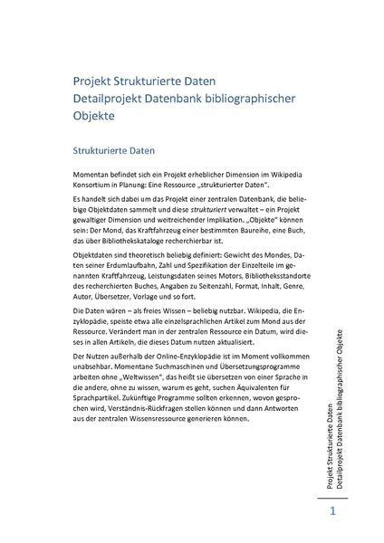 File:Projekt strukturierte Daten, bibliographische Objekte 2011-05-26.pdf