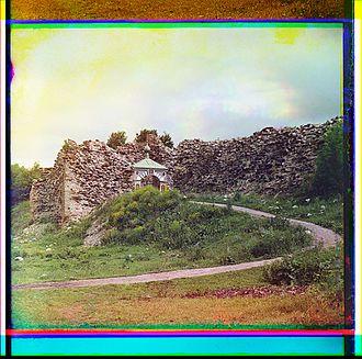 Staraya Ladoga - Image: Prokudin Gorskii Ladoga fortress