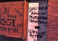 Protestant graffiti in Belfast, Northern Ireland, 1974.jpg