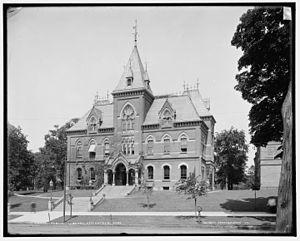 Hiller Crowell Wellman - Springfield City Library circa 1905