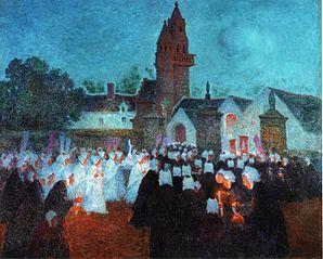 Procession in Nenvic