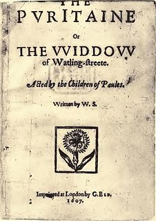 <i>The Puritan</i> 17th-century play sometimes attributed to Shakespeare