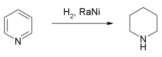 Synthese van piperidine